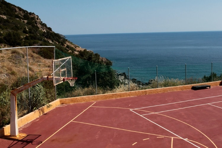 styra greece baseball goal