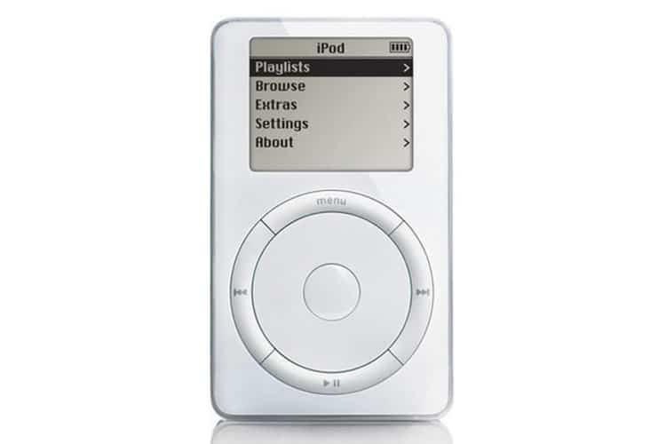 apple ipod front