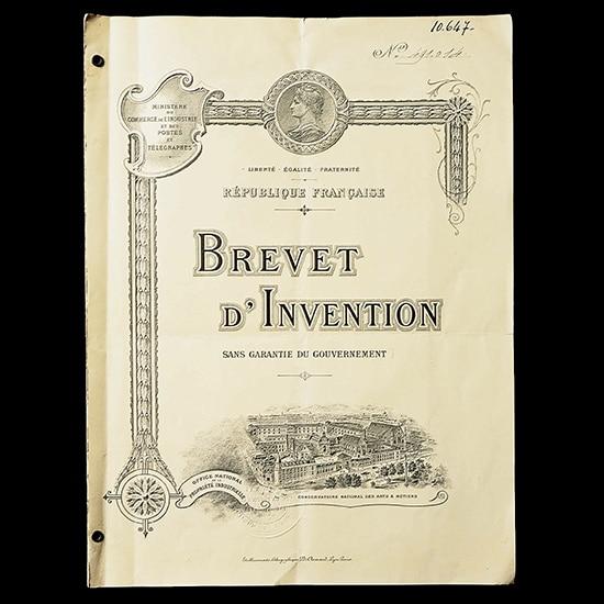 1916 Radiomir Patent