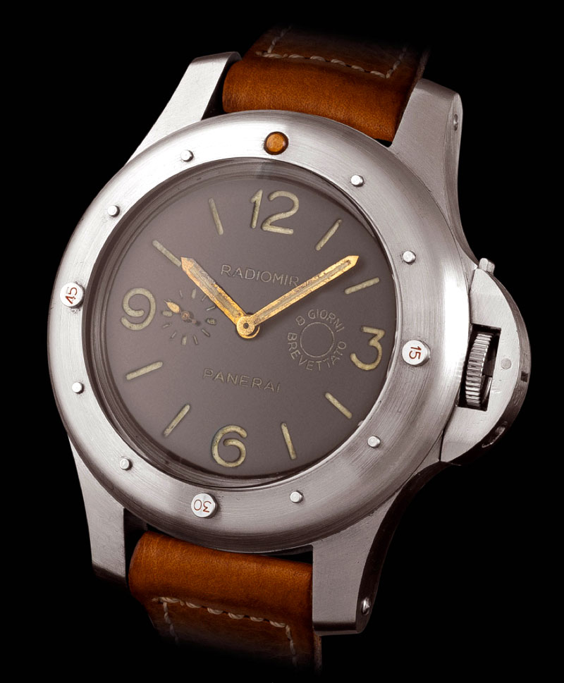 panerai watch leather strap