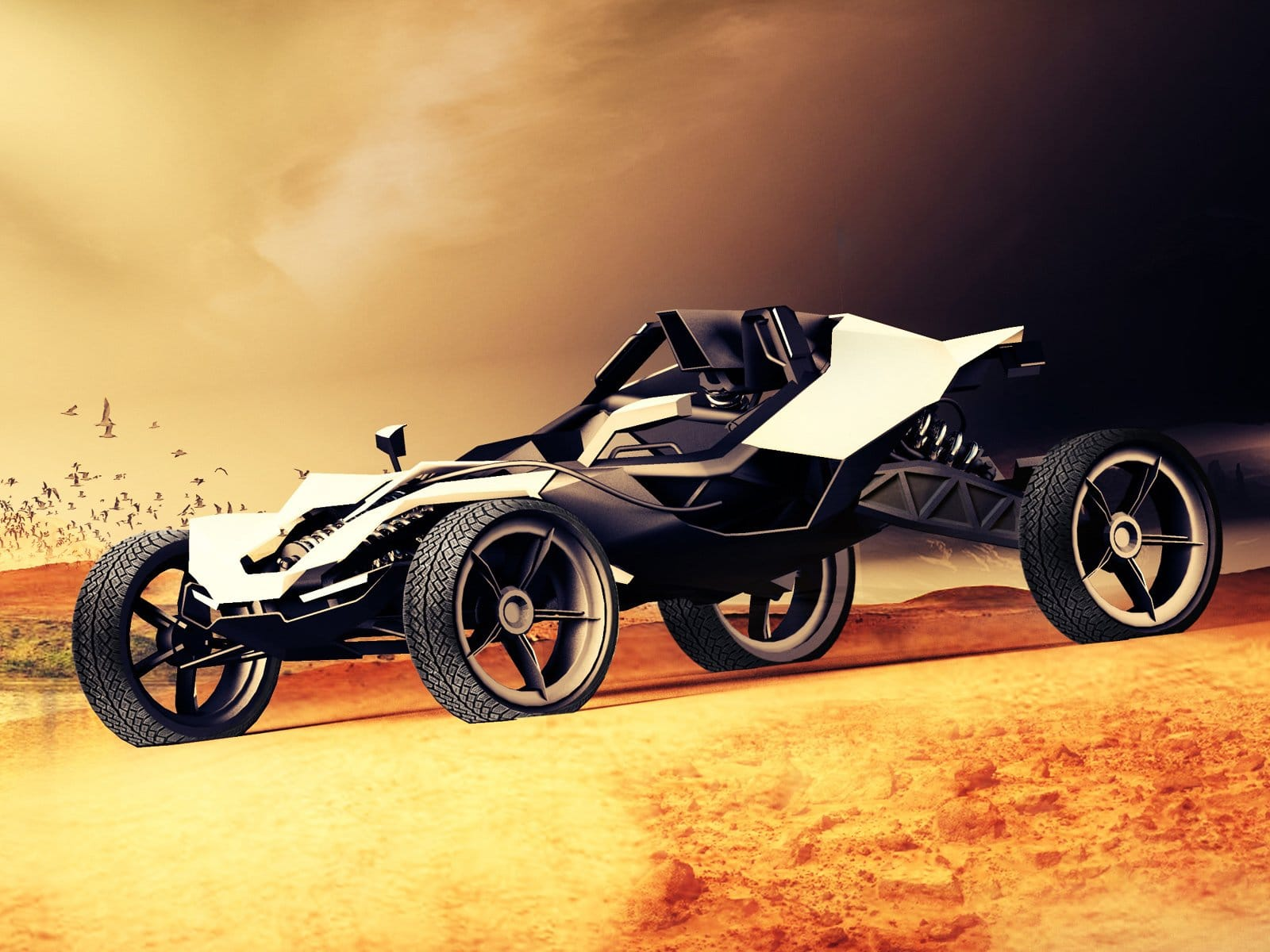 A Machine Built for Mad Max Himself - the KTM AX Buggy ...