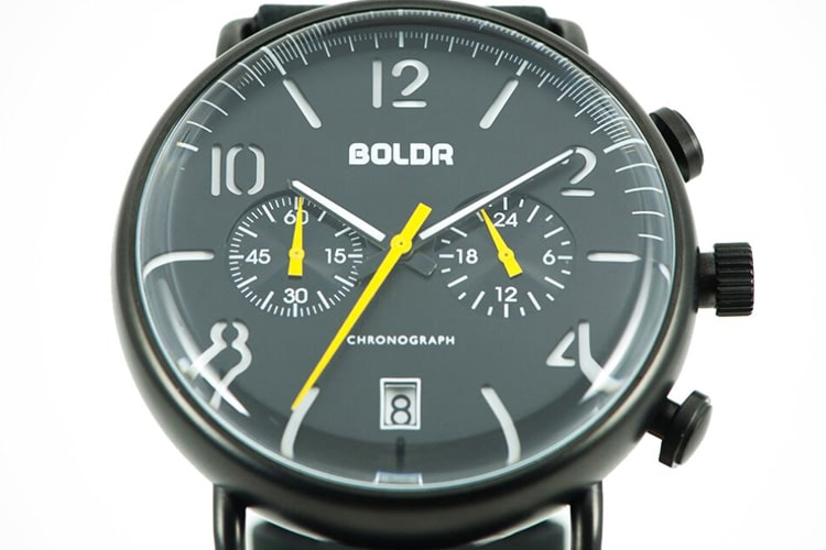 boldr journey chronograph wasp