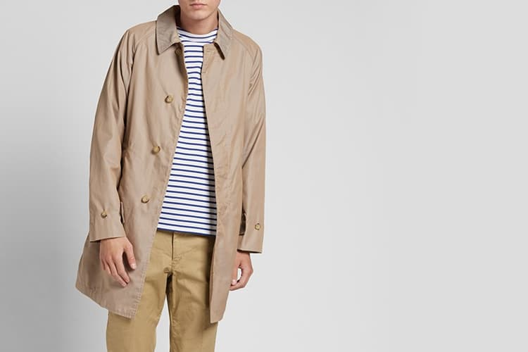 beams plus cloth mac