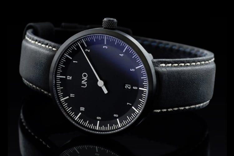 botta design uno carbon watch