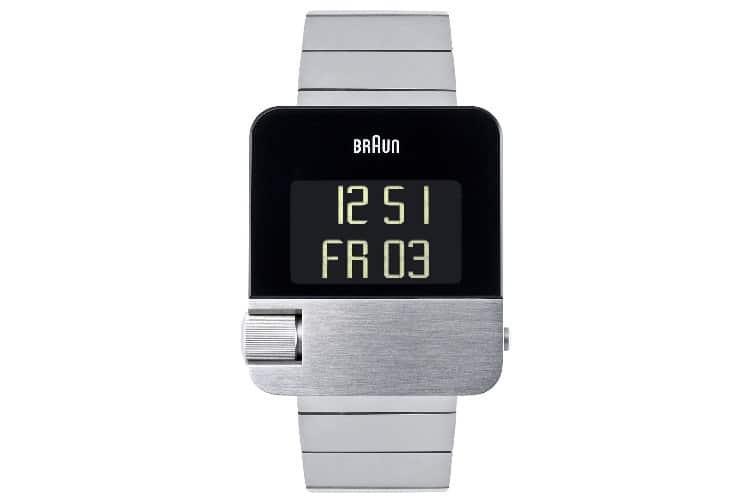 braun bn0106slbtg prestige silver watch