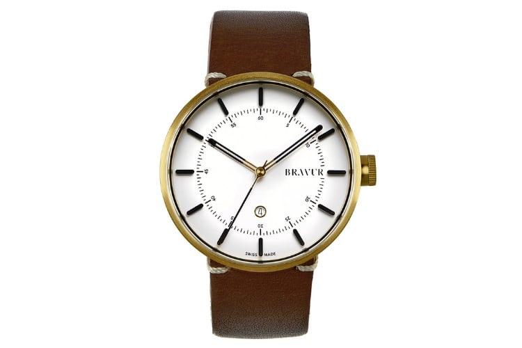 Bravur BW002G-W-LBR1 Watch
