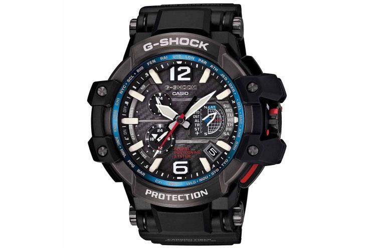 Casio – G-Shock – GravityMaster Series – GPS Hybrid Wave Ceptor – BlackBlue – GPW1000-1A