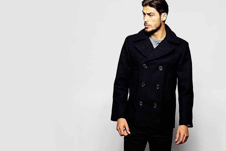 denim supply by ralph lauren peacoat