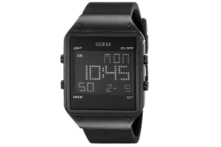 guess u0595g1 square digital watch