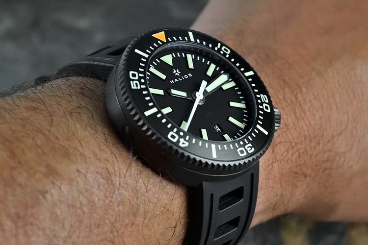 halios 1000m the puck watch