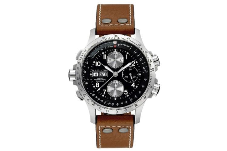 hamilton men h77616533 chronograph watch