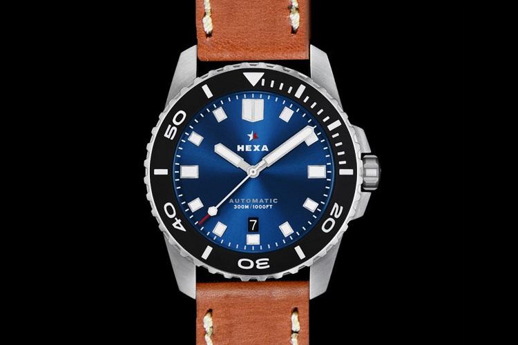 hexa k500 diver watch