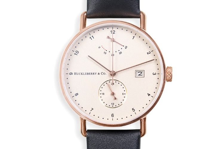 huckleberry and co archibald atticus in rose gold