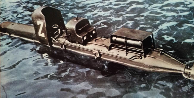 italian mini submarine ww2