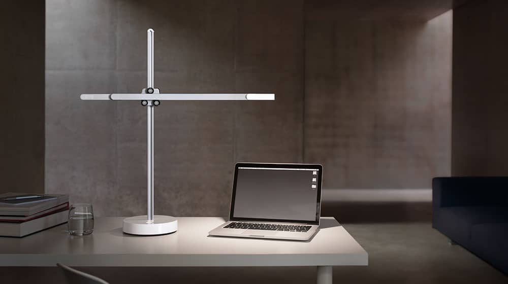 csys task light white on the table