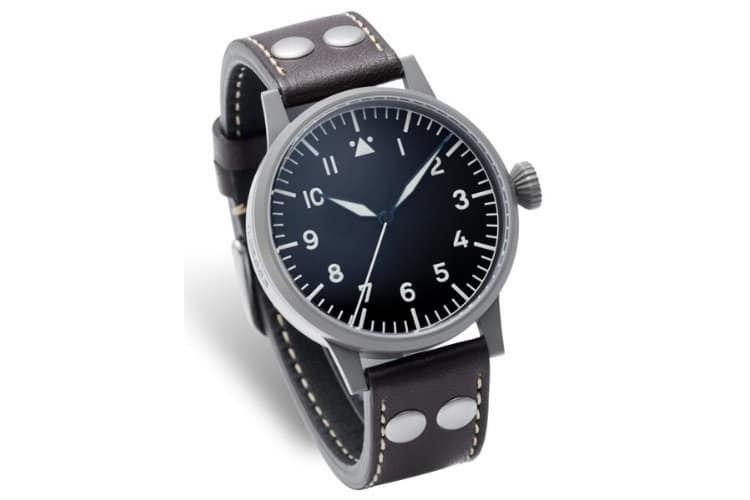 laco munster type a dial swiss automatic pilot watch