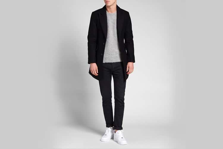 mki single overcoat