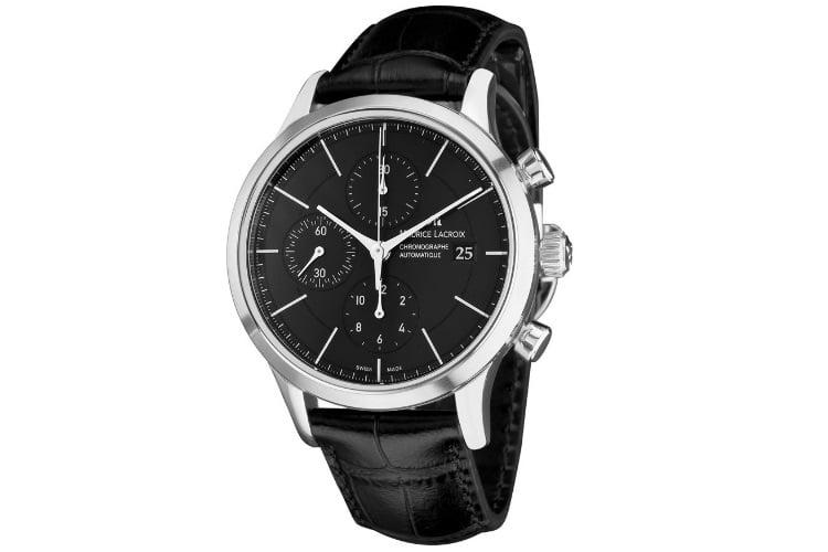 maurice lacroix men automatic chronograph