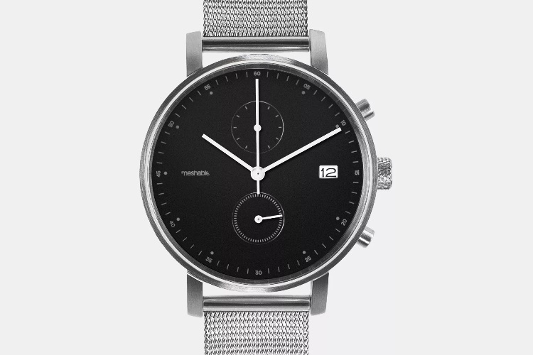 Meshable Watches Chrono Silver
