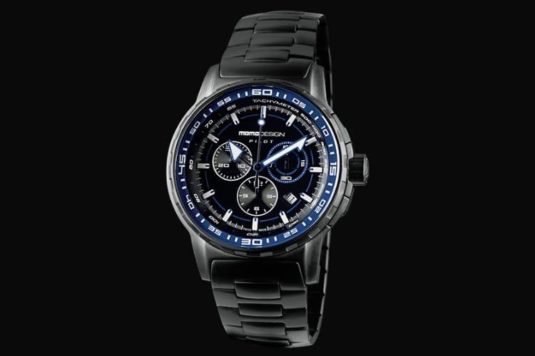 momo design pilot pro crono watch