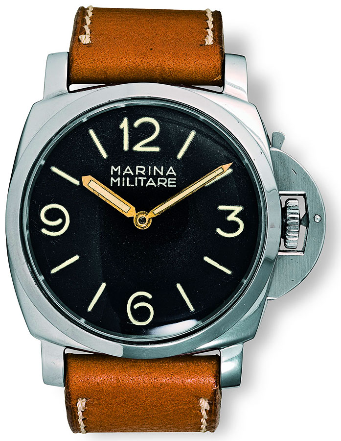 panerai watch front side