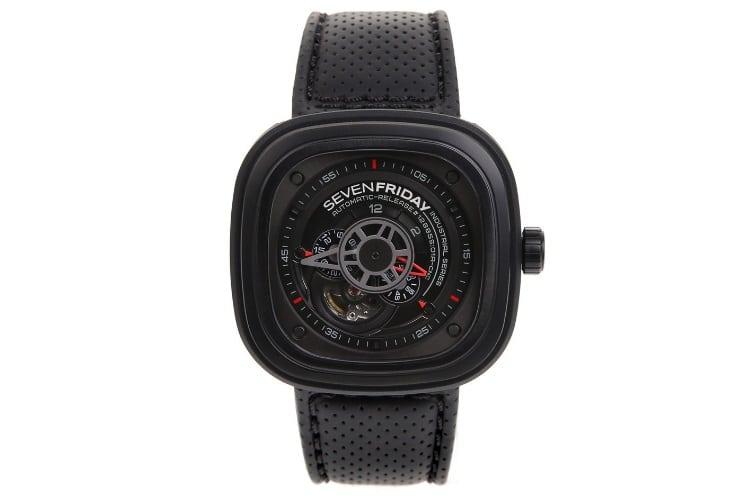 sevenfriday men p3 1 racer japanese black watch