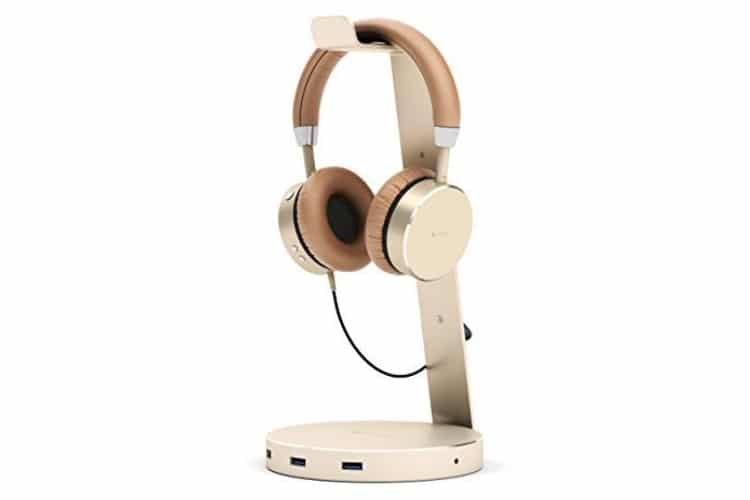 satechi aluminum usb best headphone stand
