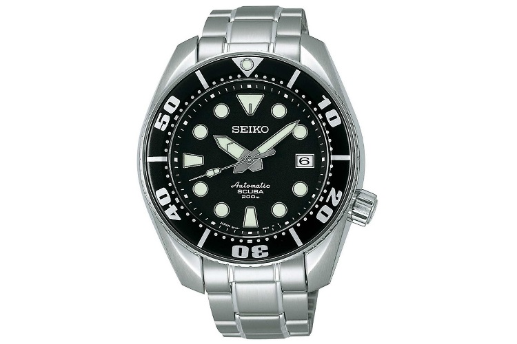 seiko prospex diver scuba men watch