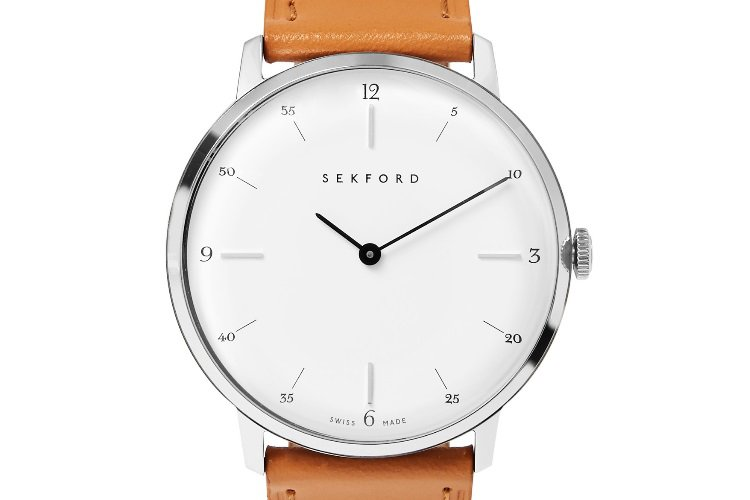 Sekford-Type-1A-Stainless-Steel-And-Leather-Watch