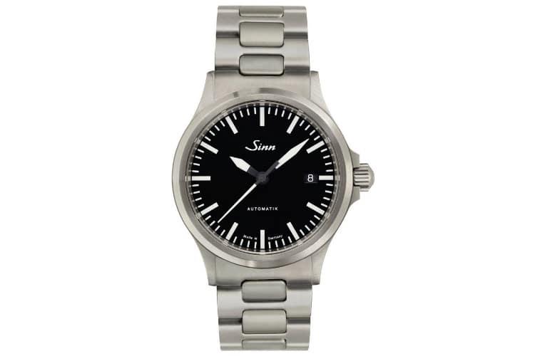 sinn 556i silver color watch