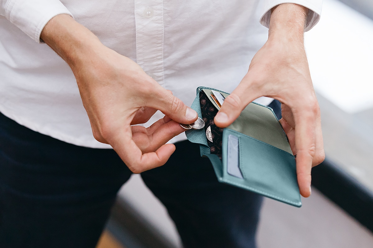 bellroy note sleeve 2.0 coin pocket