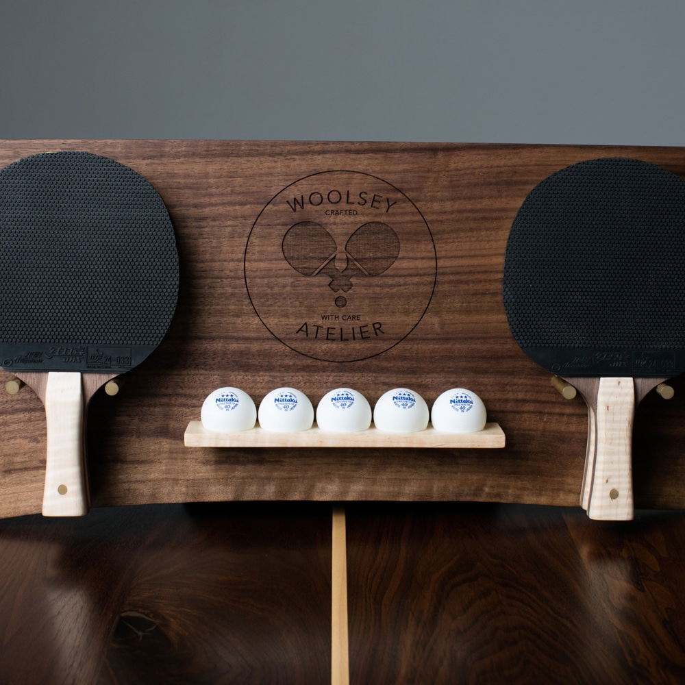 woolsey ping pong ball and bat
