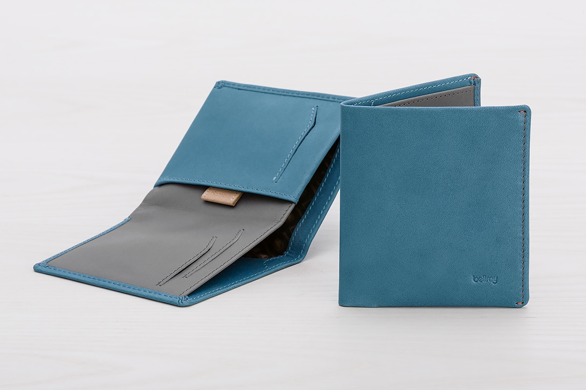 bellroy note sleeve 2.0 blue