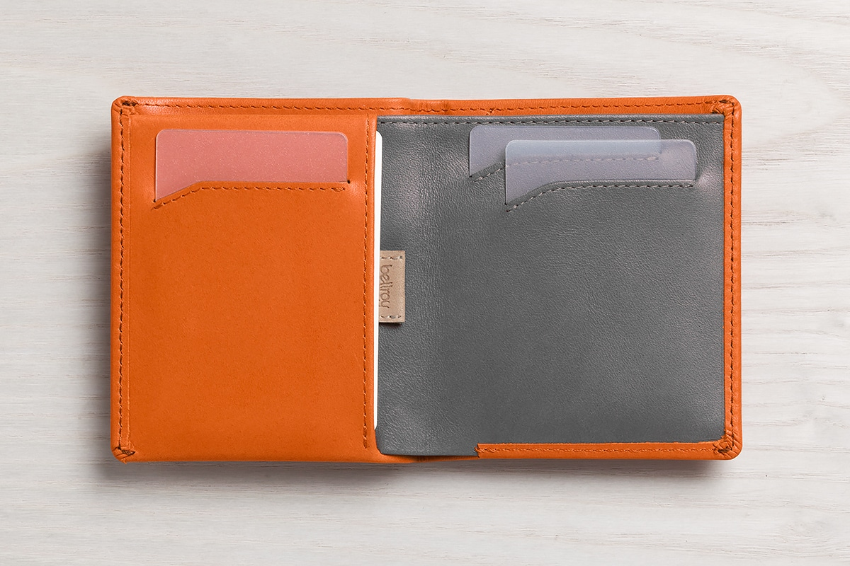 bellroy note sleeve 2.0 inside pocket