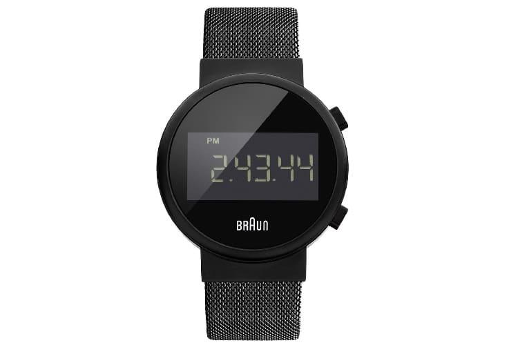 braun bn0036bkbkmhg classic stainless steel watch