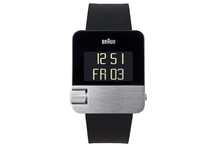 braun bn0106slbkg swiss quartz black watch