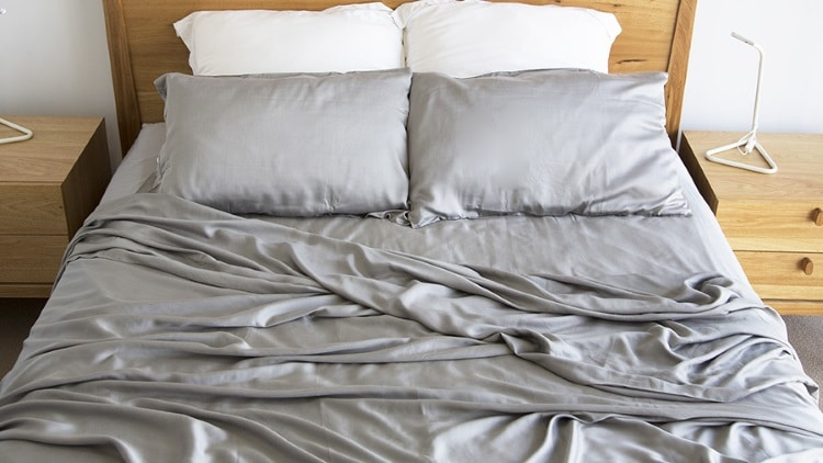 bamboo charcoal bed sheet