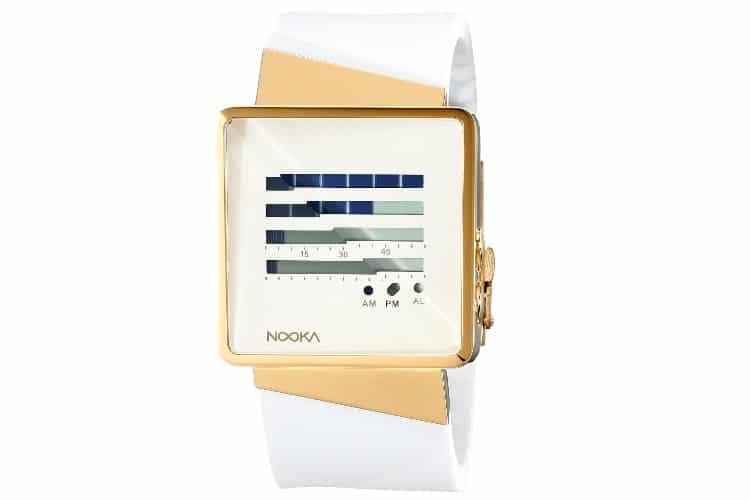 nooka zizmzenhgw white watch