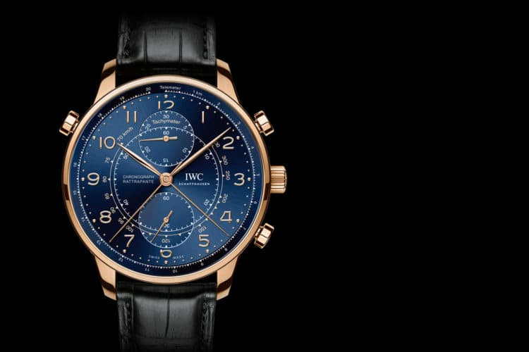 iwc portugieser chronograph rattrapante limited edition