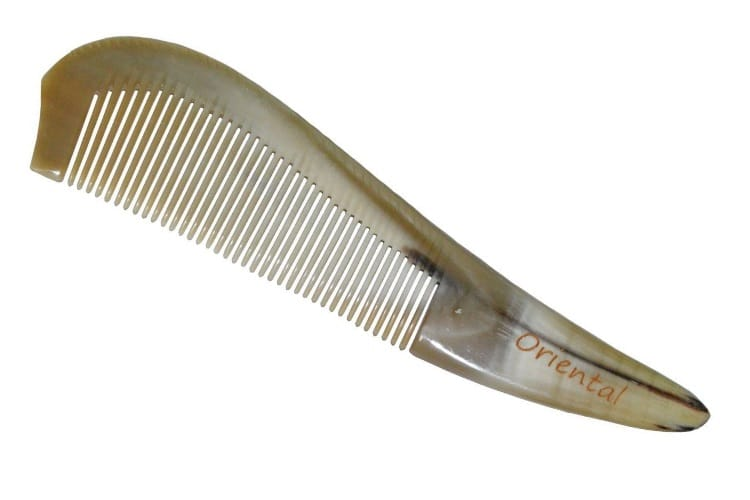 oriental natural ox horn comb