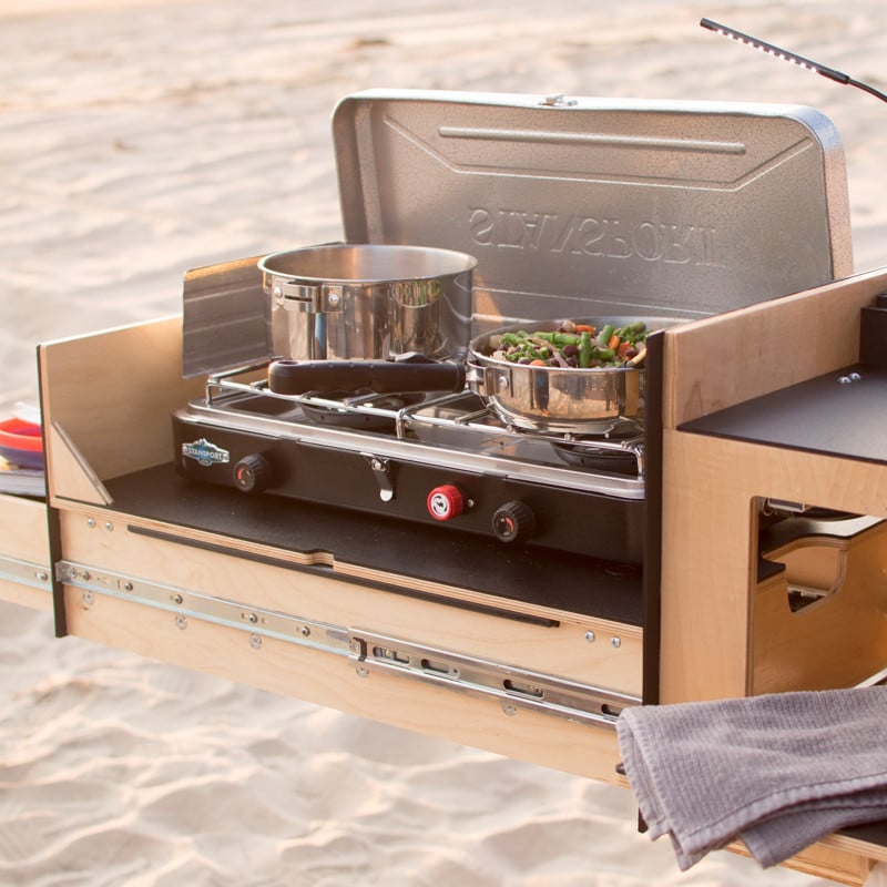 scout equipment co have developed portable kitchen