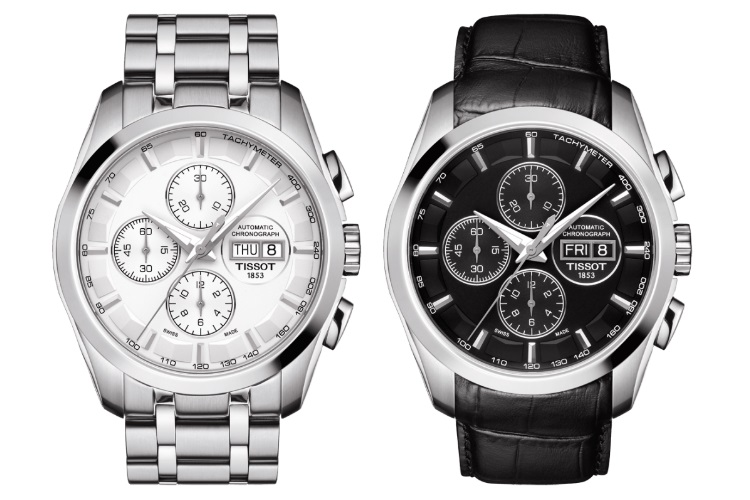 tissot couturier automatic two different models