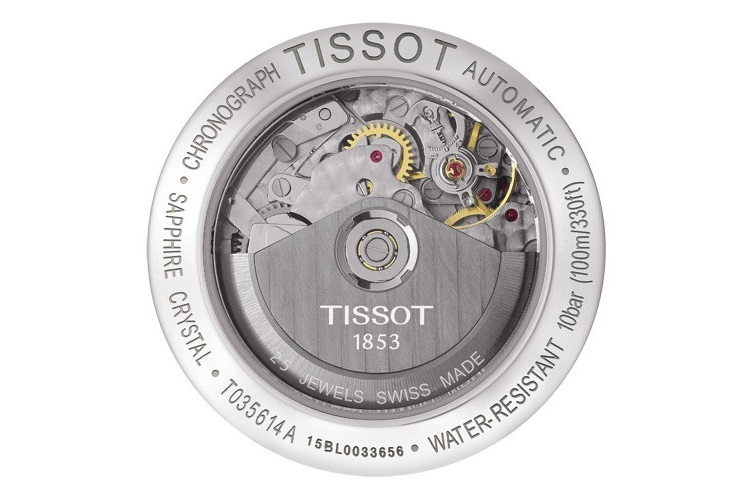 tissot couturier automatic mechanism
