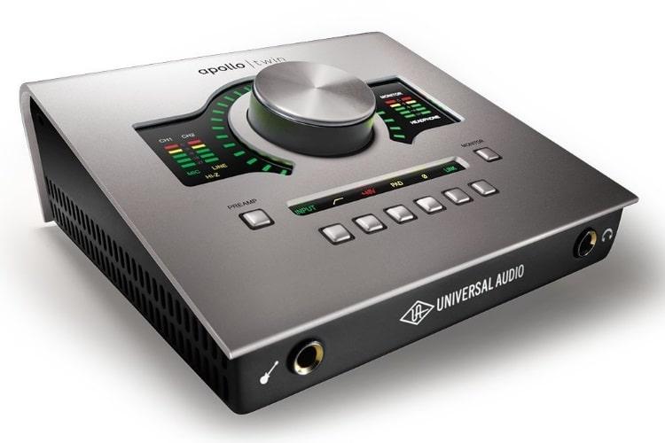 universal audio apollo twin thunderbolt interface