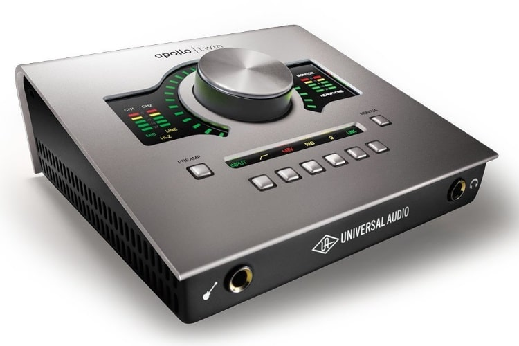 Universal Audio Apollo Twin High-Resolution Thunderbolt Interface MKBHD