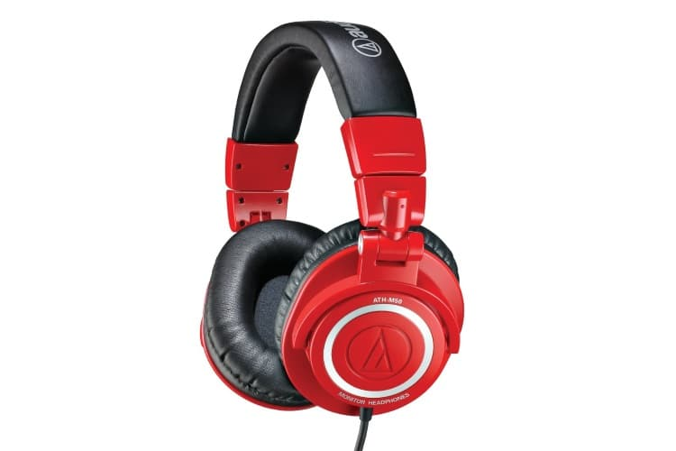 mkbhd audio technica red color