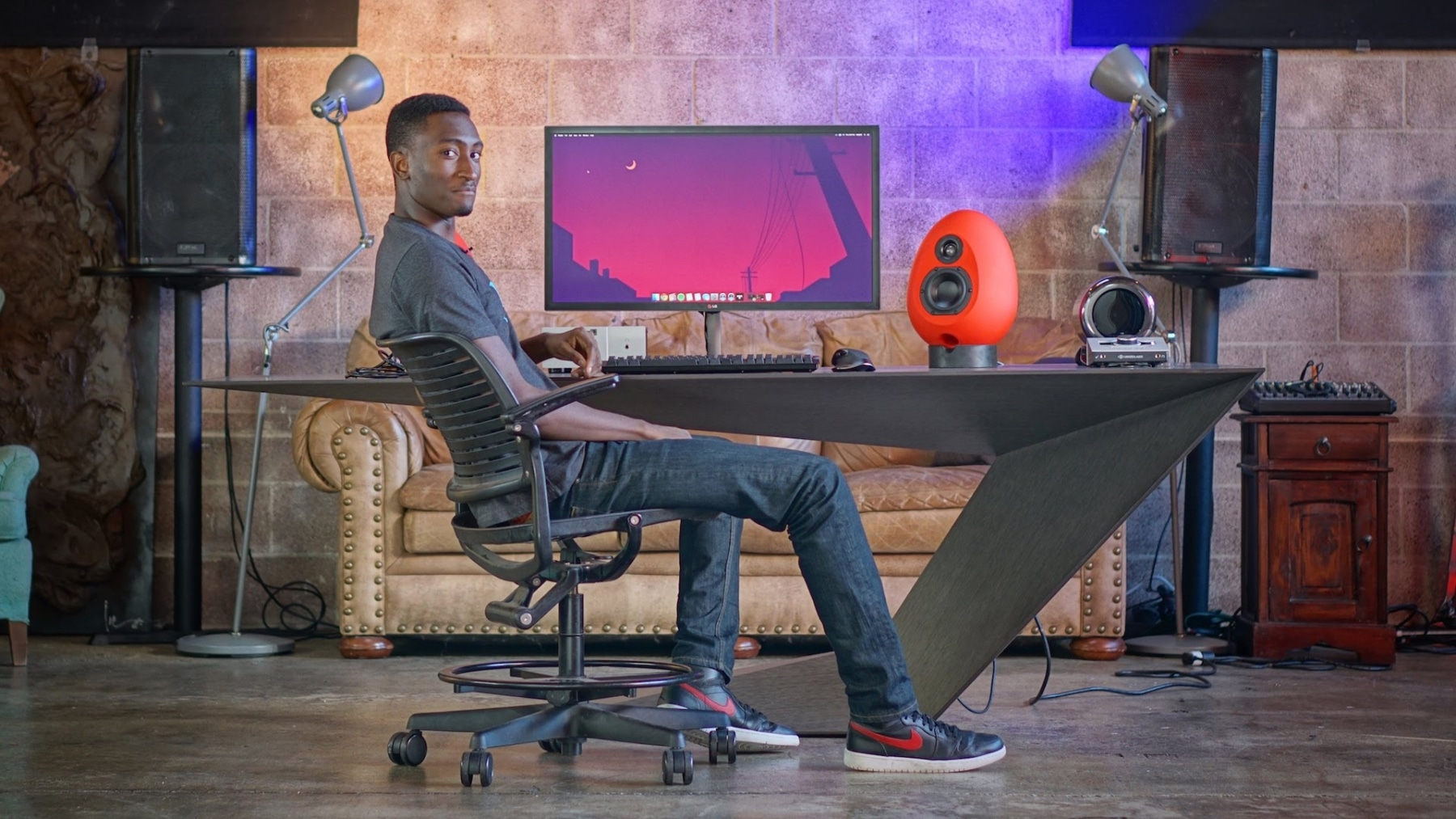 Geared Up Mkbhd S Desk Setup Amp Gear Man Of Many