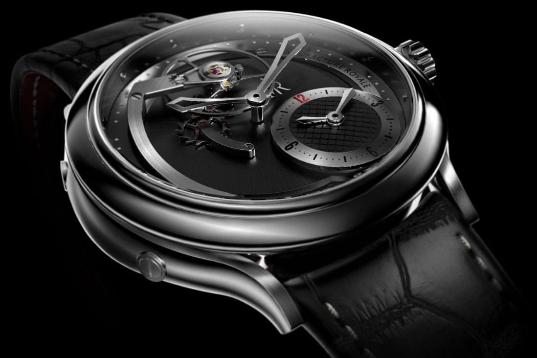 manufacture royale 1770 haute voltige dual time zone