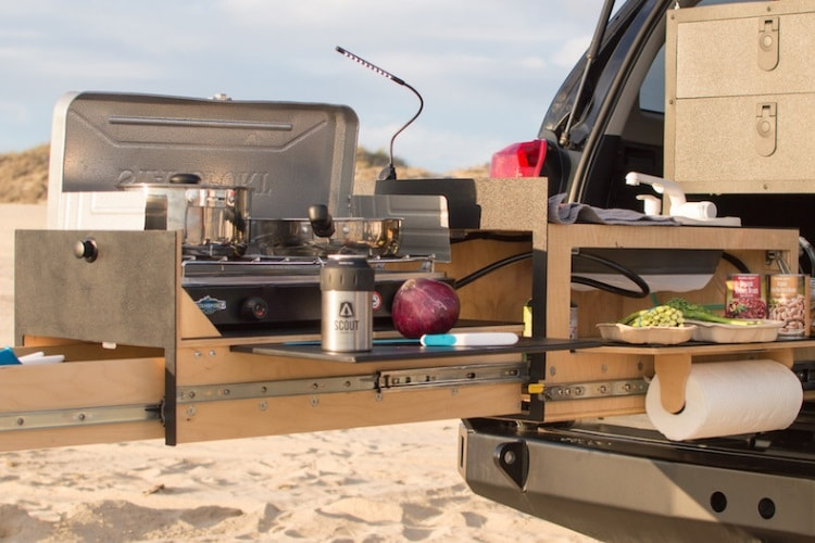 cooking camping with scout equipment co overland kitchen