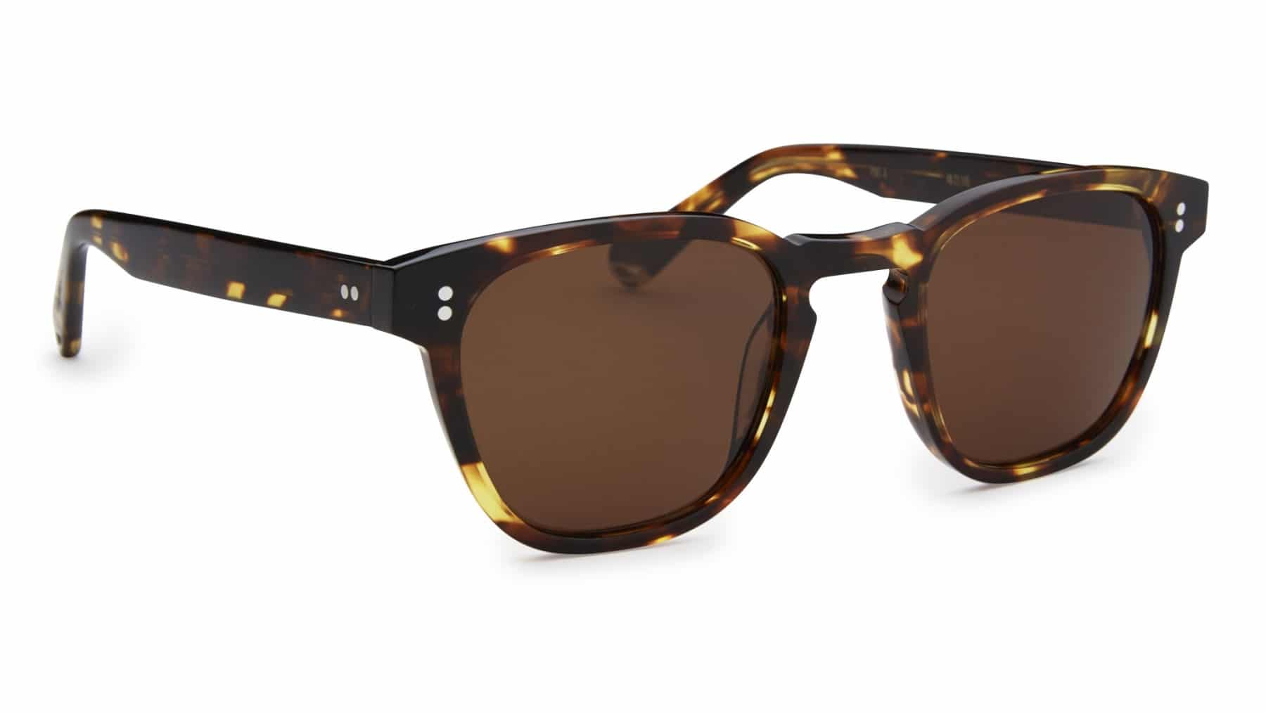 yacht master sunglasses side brown
